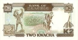 ZAMBIA P. 29a 2 K 1989 UNC - Zambia