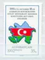 Azerbaijan 1992 Independence  MNH - Azerbaiján