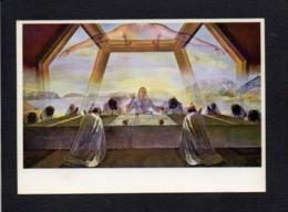 "Art / Tableau / Oeuvre De Dali "" La Cène "" National Gallery Of Art Washington - Pintura & Cuadros"