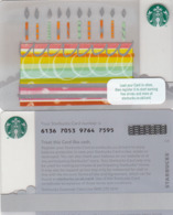 UK STARBUKS - Fall Birthday , CN : 6136, Unused - Gift Cards