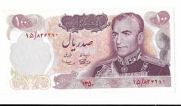 IRAN Billet –bank Note 100 Rials PICK 98 Commemorative 1971 MRS Health - Iran