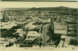 AFRICA -TUNISIA -TUNIS - VUE GENERALE PRISE DE LA CASBAH - ND PHOT.  - 1910s (BG4050) - Tunisia