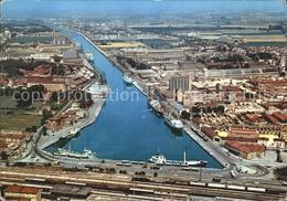 72065914 Ravenna Italia Hafen Eisenbahn Fliegeraufnahme Firenze - Unclassified