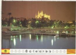 ENTERO POSTAL TARIFA A CATEDRAL DE PALMA DE MALLORCA Y PUERTO - Enteros Postales