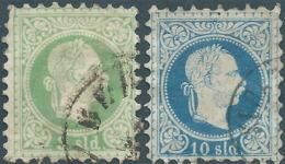 AUSTRIA L'AUTRICHE ÖSTERREICH TURKEY 1876 -1883,Austrian Post Of The Turkish Empire-3 Sld & 10 Sld, Used- Value 35,00 - Levante-Marken