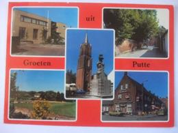 N26 Ansichtkaart Groeten Uit Putte - 1980 - Nederland