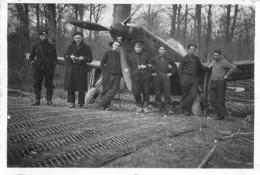 AVION MAURANE SAULNIER MS 406 PHOTO ORIGINALE FORMAT 8.50 X 6 CM - Aviation