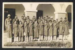 India 1941 Photography Air Force Hyderabad Group Ambala Cantt Picture Photo Postcard - 1939-45