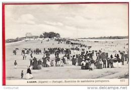 CPA PORTUGAL LAGOS ( Algarve ) Exercicios De Marinheiros Portuguezes - Faro