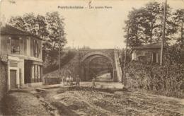 PORCHEFONTAINE - Les Quatre Ponts. (carte Vendue En L'état) - Francia