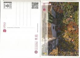 ENTERO POSTAL TARIFA A CANARIAS LA LAGUNA ASOCIACION CORAZONES DE TEJINA - Enteros Postales
