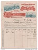 42 ROANNE - MABLY  ST MARCELLIN FACTURE Grandes TUILERIES MECANIQUES CANCALON François 1899 - J13 - France