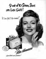 @@@ MAGNET - Soap, LUX Soap, Rita Hayworth - Publicitaires