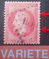 R1568/130 - NAPOLEON III Lauré N°32 - LPC - VARIETE ➤➤➤ Filet Droit Retouché - 1863-1870 Napoleone III Con Gli Allori