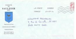 59 - COMMUNE DE SAULZOIR - 59227 (avec Timbre) - Entiers Postaux