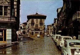 ! Moderne Ansichtskarte, Spanien, Haro, Calle General Franco, Autos, Cars, Renault - Passenger Cars