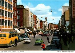 ! Moderne Ansichtskarte, Irland, Ireland, Limerick City,  Autos, Cars, Mini - Passenger Cars