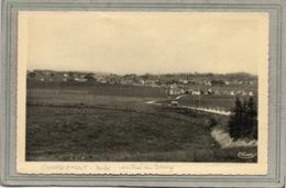 CPA - CHARQUEMONT (25) - Aspect De L'entrée Du Bourg Par La Route Gravillonnée Dans Les Années 40 / 50 - Other Municipalities