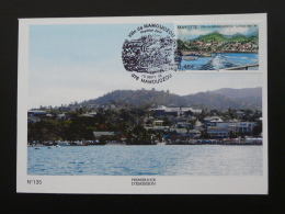 Carte Maximum Card Ville De Mamoudzou Mayotte 2005 - Brieven En Documenten