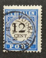 Netherlands/Nederland - Nr. P23a Stempel Voorburg - Postage Due