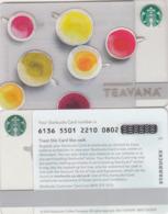 UK STARBUKS - Teavana , CN : 6136, Unused - Gift Cards