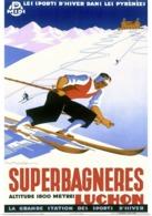 @@@ MAGNET - Superbagneres, Skier - Advertising