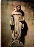 21  Eglise De FONTAINE LES DIJON Statue De St Bernard De Clairvaux Par A Le Moiturier XV°s - Otros Municipios