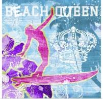@@@ MAGNET - Surfing, Beach Queen - Advertising