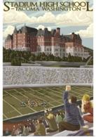 @@@ MAGNET - Tacoma, Washington, Stadium High School - Advertising