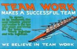 @@@ MAGNET - Team Work, Rowing - Advertising