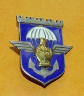 17° Régiment De Génie Parachutiste, émail, Guilloché, 1 Boléro Drago, FABRICANT DRAGO PARIS ,HOMOLOGATION 2798 ,ETAT VOI - Army