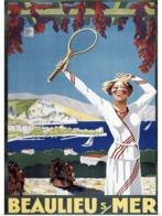 @@@ MAGNET - Tennis, Beaulieu Mer - Advertising