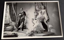 """LILIAN HARVEY & HEINZ RÜHMANN Im Film """"Einbrecher"""" # Altes Sammelbild / Vintage Photo-Karte # [19-3885] - Fotos"""