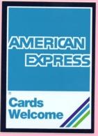 Sticker - American Express, Croatia - Stickers