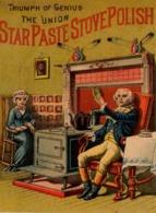 @@@ MAGNET - The Union Star Paste Stove Polish - Advertising