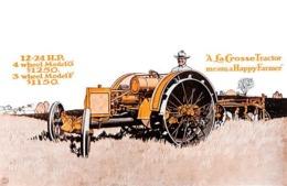 @@@ MAGNET - Tractor, La Crosse Tractor - Advertising