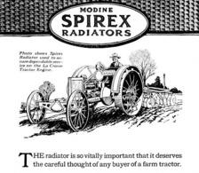 @@@ MAGNET - Tractor, Modine Spirex Radiators - Advertising