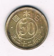 50 SEN 1947-1948 JAPAN /8104/ - Japan