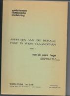 Aspecten Van De Rurale Post In West-Vlaanderen. Auteur Hugo Van De Veire (2 Delen) - Philatelie Und Postgeschichte