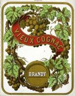 @@@ MAGNET - Vieux Cognac Brandy - Advertising