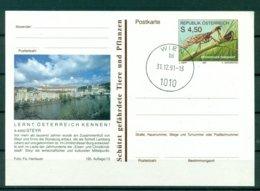 Autriche  1991 - Entier Postal  Steyr - 4,50 S - Entiers Postaux