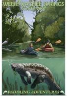 @@@ MAGNET - Weeki Wachee Springs State Park, Florida - Advertising