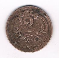 2 HELLER 1896   OOSTENRIJK /8107/ - Austria