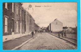 CPA MANAGE : Rue Delval - Circulée En 1920 - Animée - 2 Scans - Manage