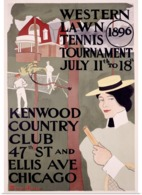 @@@ MAGNET - Western Lawn Tennis, Kenwood Country Club - Advertising