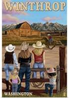 @@@ MAGNET - Winthrop, Washington, Cowgirls - Advertising