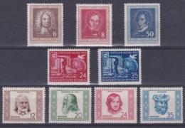 DDR Kleine Verzameling 1952 *, Zeer Mooi Lot Krt 4179 - Collezioni (senza Album)