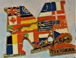 Rare Pin's Mémorial De Caen Normandie - 1939-45