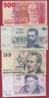 Israèl 8 Billets Dans L 'état - Israel