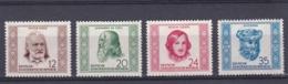 DDR Kleine Verzameling 1952 Nr 63/66 *, Zeer Mooi Lot Krt 4180 - Collezioni (senza Album)